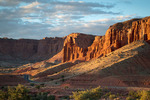 View from Panorama Point at Sunset, Capitol Reef National Park, Utah