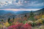 Sunset on the Blue Ridge Parkway, NC, Autumn