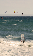 Kite/Wind Surfing along the Pacific Coast Highway