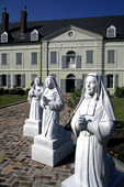 Courtyard of Urseline Convent in New Orleans