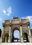 Arc Du Carrousel is located on Place du Carrousel, adjacent to Louvre Museum 