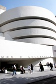 Solomon R. Guggenheim Museum exterior in  New York
