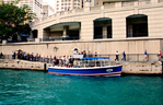 Chicago Water Taxis providing transportation
