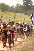 Civil War Battle of Resaca re-enactment
