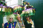 Costumed Mardi Gras Participants  
