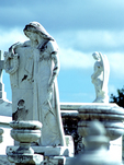 Statues in Greenwood Cemetery