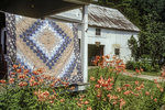 Vermont Quilter Displays Her Products