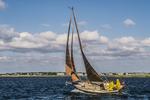 Sailing off of Cape Cod
