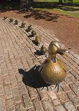 Duck Sculpture on the Boston Common