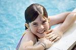 Summertime Swim in the Swimming Pool