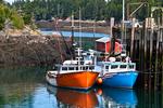 Two Fishing Boats at Head Harbor, Campobello Island