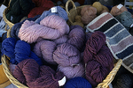 A Basket of Yarn at the Common Ground fair