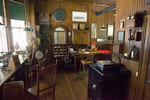 Interior of the Train Station at the Shelburne Museum