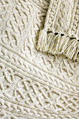 Knitted Merino Wool Blanket