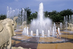 Fountain at Coolidge Park