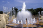 Fountain at Coolidge Park #3