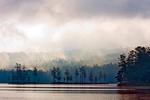 Tully Lake on a Foggy Morning