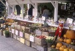 Farm Stand In the Fall