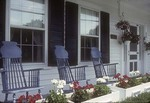 West Dover Inn Porch