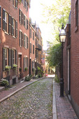 Cobble Stone Street on Beacon Hill