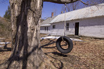 Old Farm House and a Tire Swing