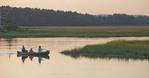 Family Canoeing in Scarborough Marsh