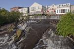 Waterfall in Camden Maine