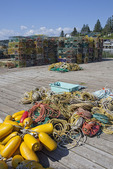 Lobster Pots and Lobster Buoys