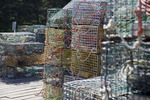 Lobster Traps on the Dock
