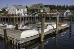 Docks in Port Clyde Harbor