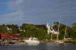 Schooners in Rockport Harbor
