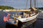 Timberwind Docked in Rockport Harbor