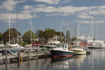 Boats Docked in Camden Maine