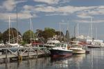 Boats Docked in Camden Maine