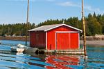 Red Fishing Shack
