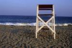 Lifeguard Chair at a Rhode Island Beach