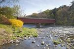 West Cornwall Bridge Crosses the Housatonic River