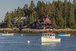 Lobster Boats in Five Islands Harbor