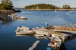 Dinghies at Five Islands Dock