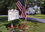 Flag Flying at the Congregational Church