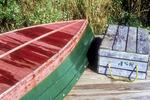 Overturned Rowboat