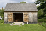 Replica of Old English Barn