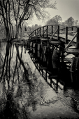 Black and White - The Old North Bridge