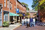 Street In Newburyport, MA