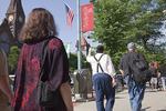 Walkers in Downtown Northampton
