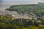 View of Camden from Mt. Battie
