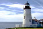 Morning Light at Pemaquid Point Lighthouse