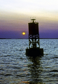 Bell Buoy 25 at Dawn
