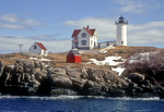 Nubble Light in the Winter