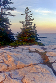 Sunset at Reid State Park